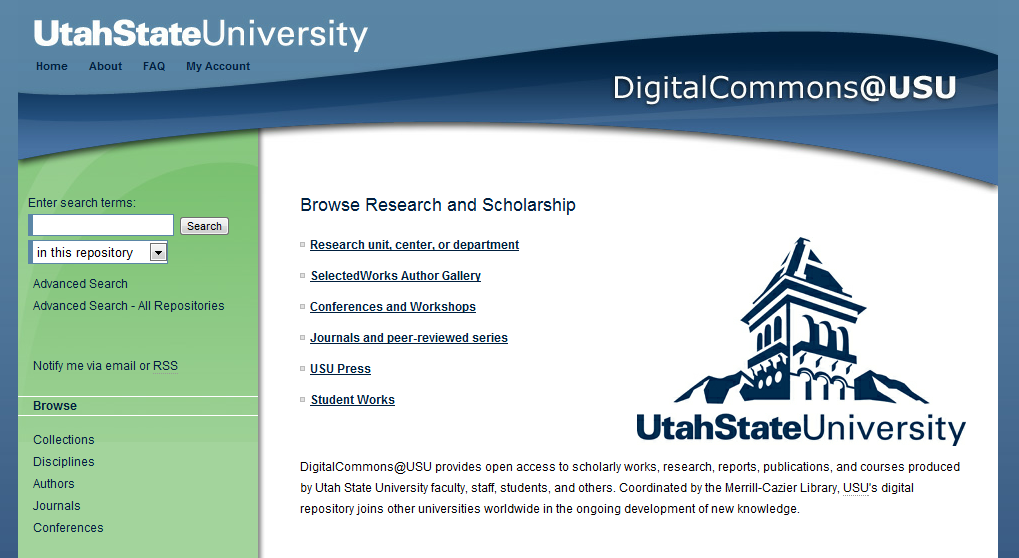 DigitalCommons@USU - Utah State University Research