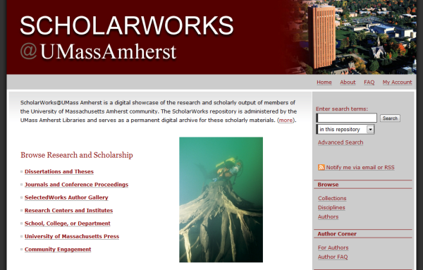 ScholarWorks@UMass Amherst