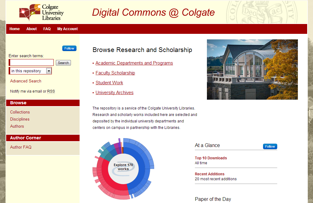 Digital Commons @ Colgate - Colgate University Libraries Research