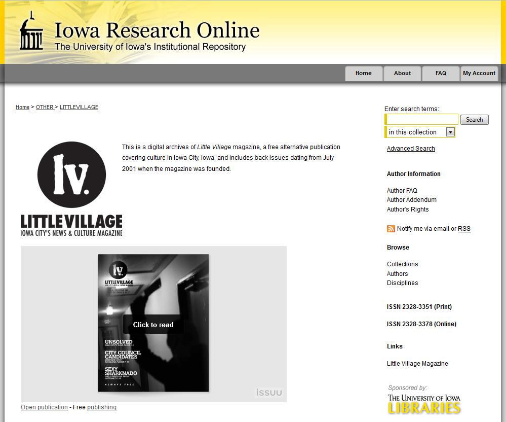 Little Village archives