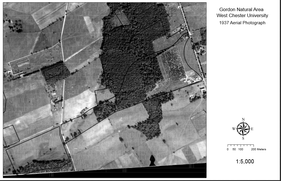 Gordon Natural Area Aerial Image