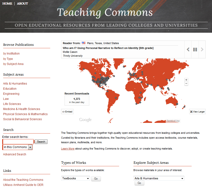 teachingCommons