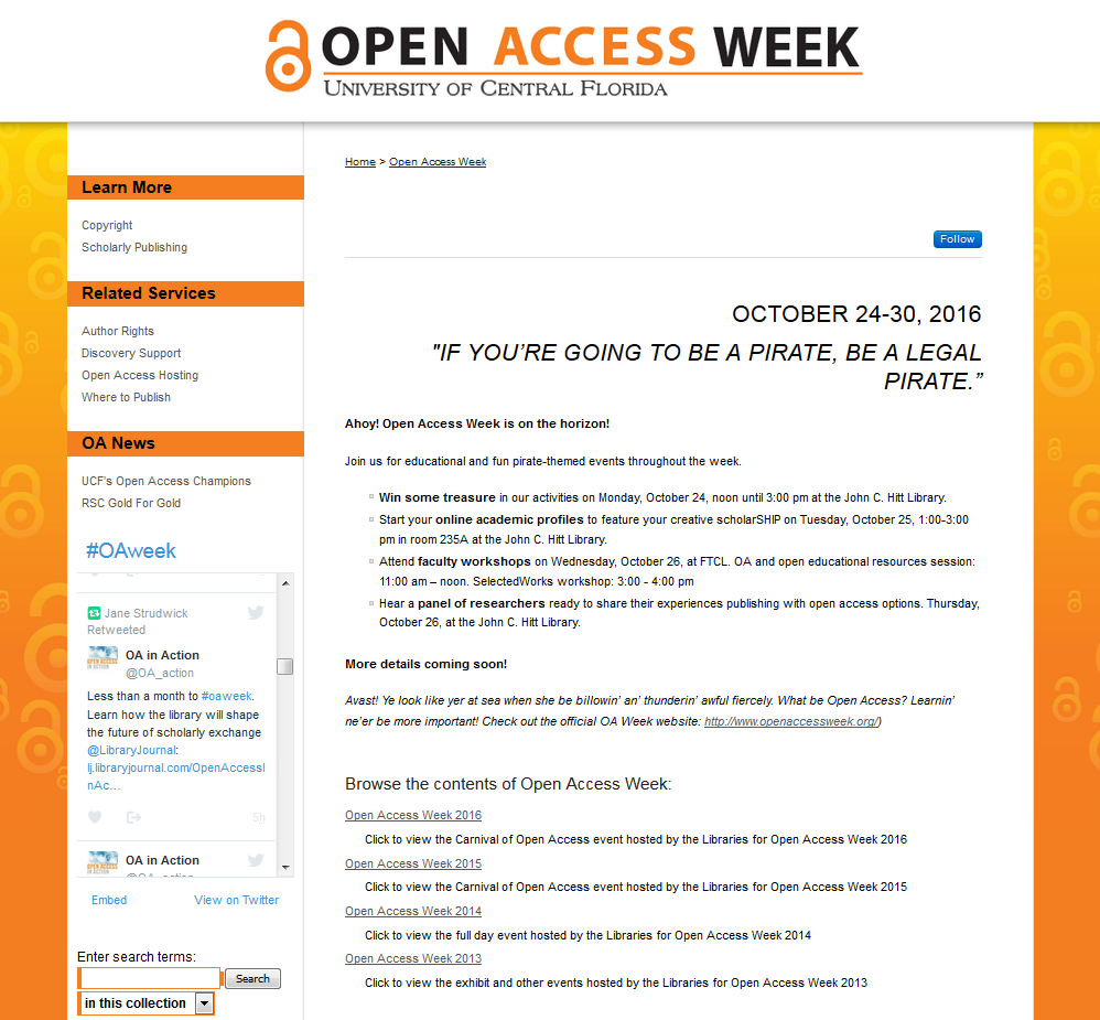 Celebrating Open Access Week in Style with the Digital